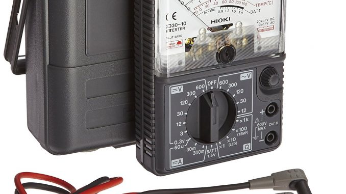 Hioki 3030-10 HiTester Manual-Ranging