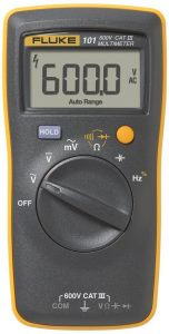 Fluke 101 Basic Digital Multimeter Pocket Portable